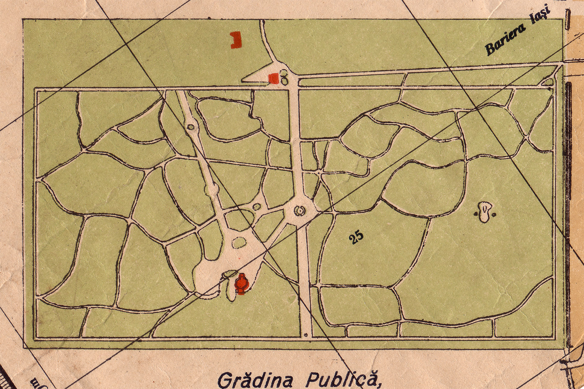 Barlad Online Photo Gallery Harta Barladului La 1906 Harta