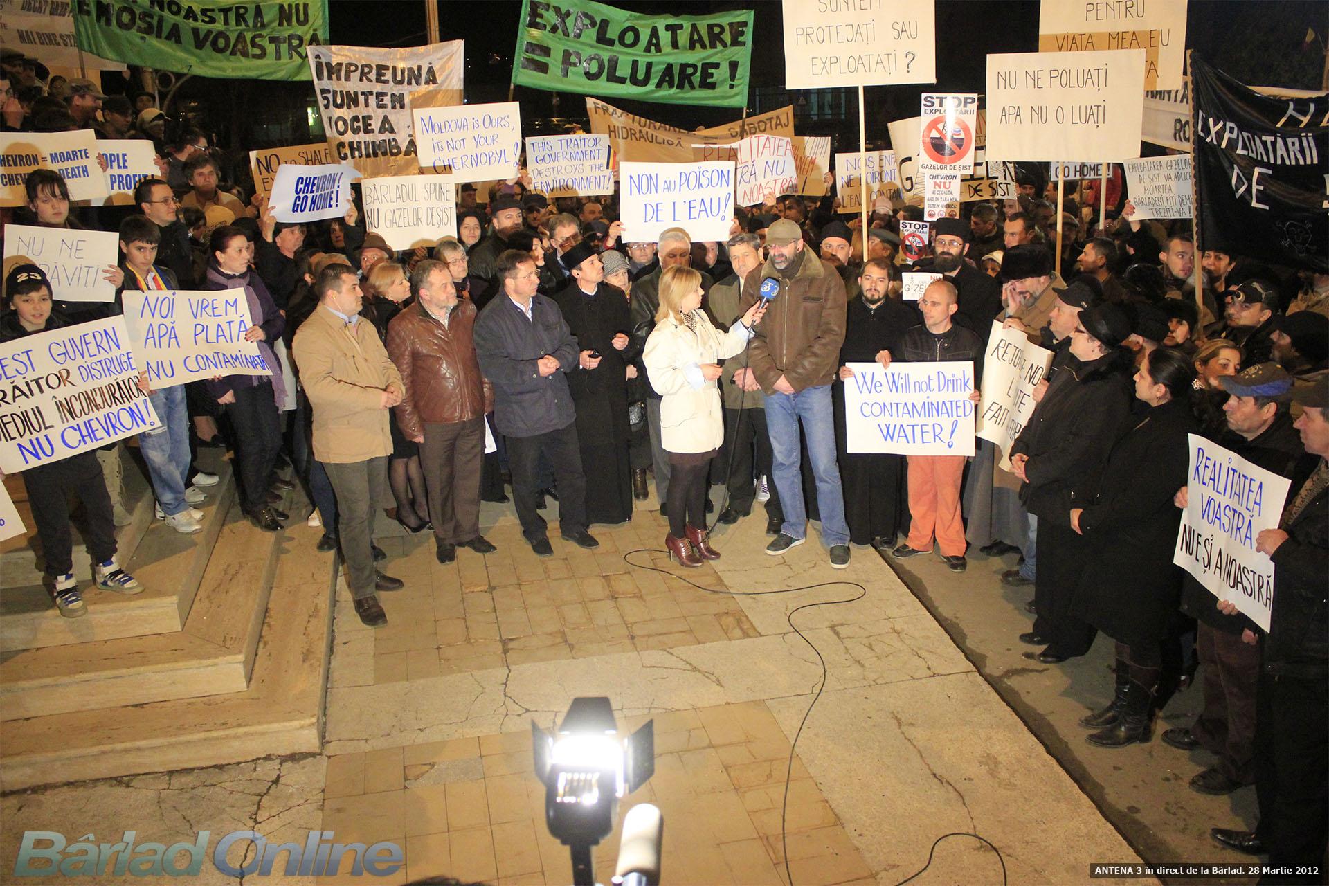 Bârlad Online Photo Gallery - Antena 3 - LIVE din Bârlad  28 Martie