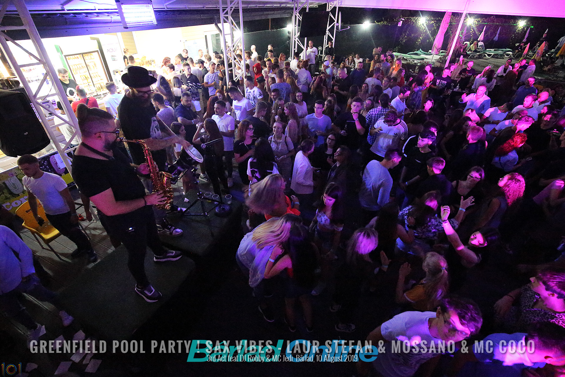 Bârlad Online Photo Gallery - Greenfield Pool Party ! Sax